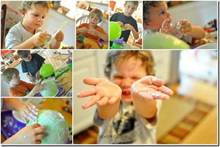 Babba mache collage