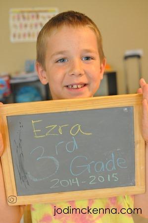 Ezra third grade